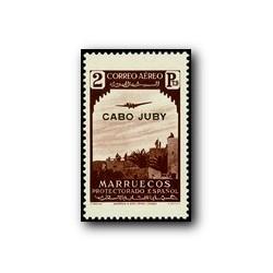 1937 Cabo Juby. Sellos del tipo de Marruecos (Edif. 110)*