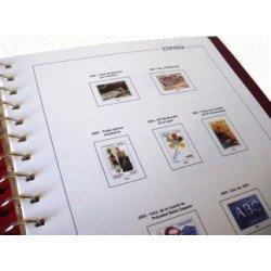 Juego Hojas Sobres Entero Postales 2008 con filoestuches