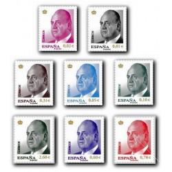 2008 Sellos de España. S.M. D. Juan Carlos I (Edif. 4360/67)**