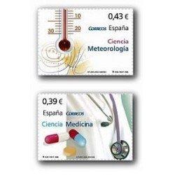 2008 Sellos de España. Ciencia (Edif. 4384/85)**