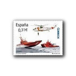 2008 Sellos de España. Salvamento Marítimo. (Edif. 4399)**