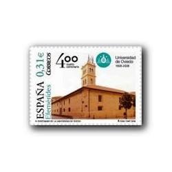2008 Sellos de España. IV Centenario de la Universidad de Oviedo. (Edif. 44
