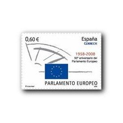 2008 Sellos de España. 50º Aniv. del Parlamento Europeo. (Edif. 4401)**