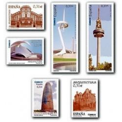 2008 Sellos de España. Arquitectura. (Edif. 4402/07)**