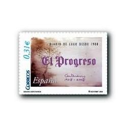 2008 Sellos de España. Diarios Centenarios - El Progreso (Edif. 4413)**
