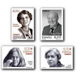 2008 Sellos de España. Personajes (Edif. 4417/20)**