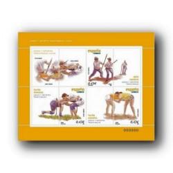 2008 Sellos de España. Juegos y Dep. Tradicionales - Lucha (Edif. 4426)**