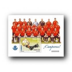 2008 Sellos de España. Fútbol - Campeones de Europa (Edif. 4429)**
