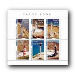 2008 Sellos de España. Faros (Edif. 4430)**