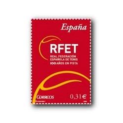 2008 Sellos de España. Federacion Española de Tenis (Edif. 4433)**
