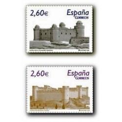 2008 Sellos de España. Castillos de España (Edif. )**