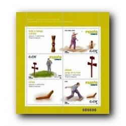 2008 Sellos de España. Juegos y Dep. Tradicionales (Edif. 4426)**
