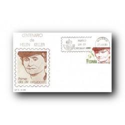 1980 SPD España. Centenario de Helen Keller. (Edif.2574)
