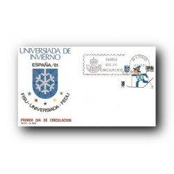 1981 SPD España. Universiada '81. (Edif.2608)