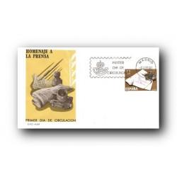 1981 SPD España. Homenaje a la Prensa. (Edif.2610)