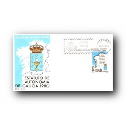 1981 SPD España. Estatuto de Autonomia de Galicia. (Edif.2611)