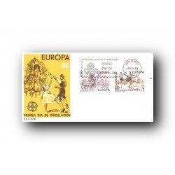 1981 SPD España. Europa CEPT. (Edif.2615/16)