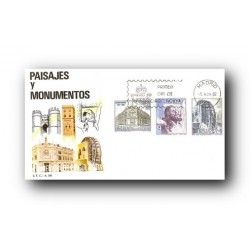 1982 SPD España. Paisajes y Monumentos. (Edif.2676/80)