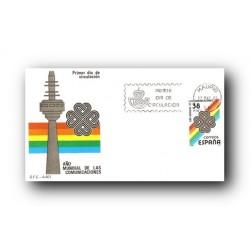 1983 SPD España. Año Mundial de las Comunicaciones. (Edif.2709)