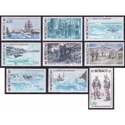 1977 Mónaco. La Carrera de un Navegante. (Yvert. 1103/11) **