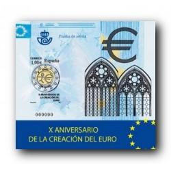 2009 Prueba del Artista. X Aniv. del Euro