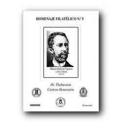 2009 Hoja Homenaje al Dr. Thebussem (nº 5)