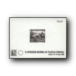 1986 Prueba Oficial. FILATEM´86. Calella