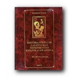 Historia Postal de Antiguas Dependencias Españolas en África (tomo V)