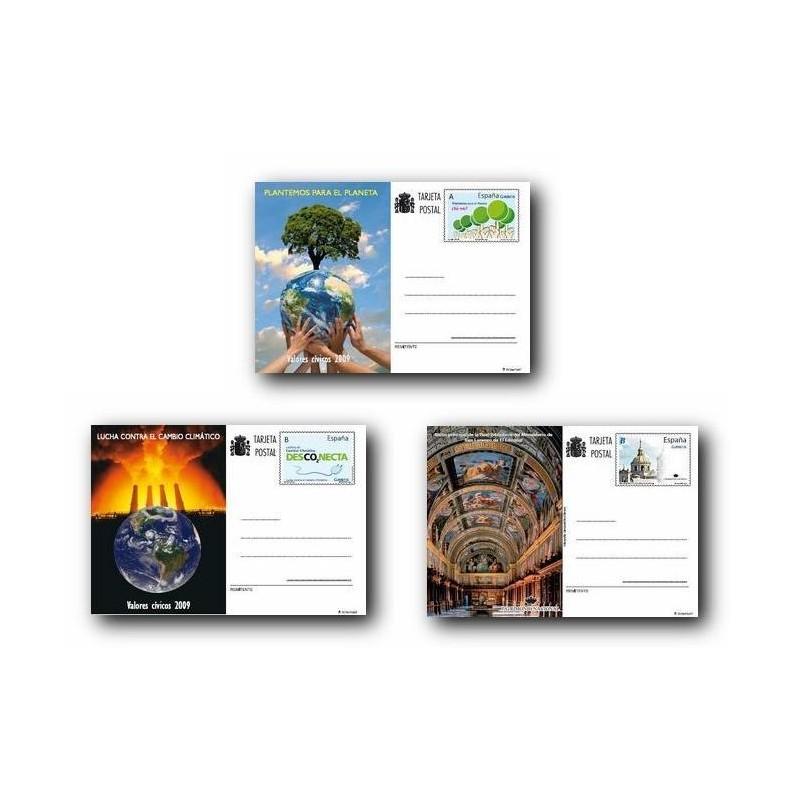 2009 España. Tarjetas Entero Postales - Emisiones del año **
