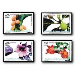 2007 Sellos de Guinea Ecuatorial. Frutos y Flores **