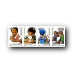 2009 Sellos de Guinea Ecuatorial Declaración Derechos del Niño.**