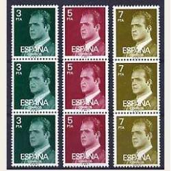 1976 España Trípticos Juan Carlos I (Edif.2346A/2348A) **