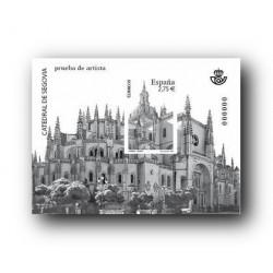 2010 Prueba del Artista. Catedral de Segovia.