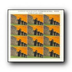 2010 Sellos de España. Patrimonio Murallas de Lugo. (Edif. MP.89)**