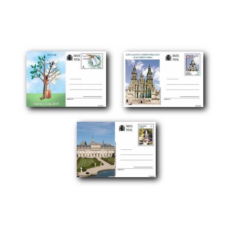 2010 España. Tarjetas Entero Postales - Emisiones del año **