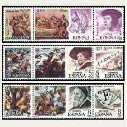 1978 Sellos de España (2460/68). Centenarios