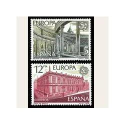 1978 Sellos de España (2474/75). Europa CEPT.