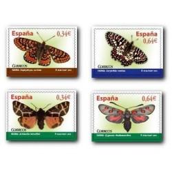 2010 Sellos de España (4533-36). Fauna - Mariposas. **