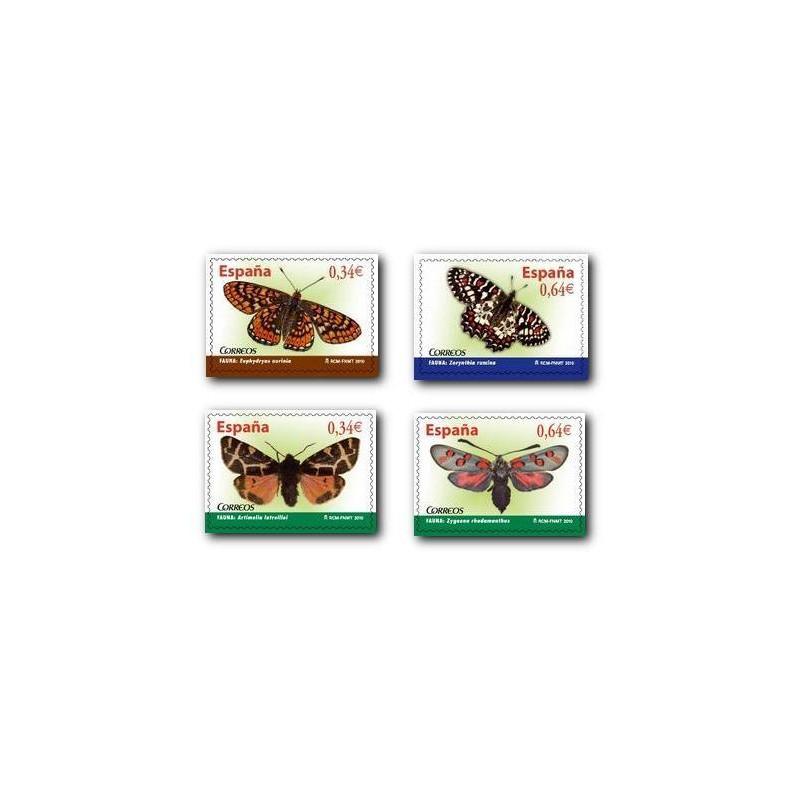 Sellos de España 2010. Fauna - Mariposas. **