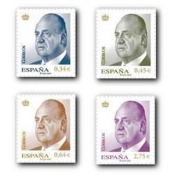 2010 Sellos de España (4537-4540). S.M. D. Juan Carlos I