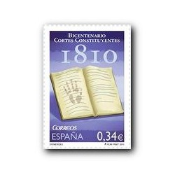 Sellos de España 2010. Bicentenario de las Cortes de 1810. **