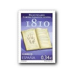 2010 Sellos de España (4551). Bicentenario de las Cortes de 1810.
