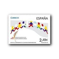 2010 Sellos de España (4555). Indepen. de las Repúblicas Iberoamericanas.