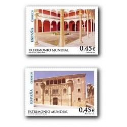 2010 Sellos de España (4556-57). Patrimonio Mundial. Úbeda y Baeza.