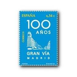 Sellos de España 2010. Gran Vía de Madrid. **