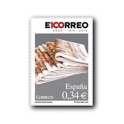 Sellos de España 2010. Diario El Correo. **