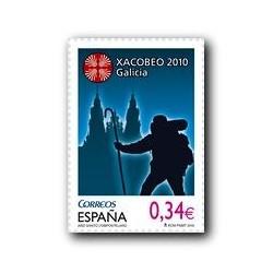 Sellos de España 2010. Año Santo Compostelano Xacobeo. **