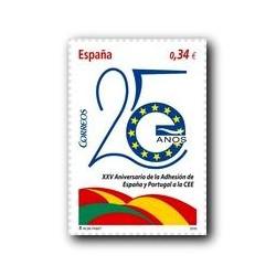 2010 Sellos de España (4574). Adhesión España y Portugal en la C.E.E.