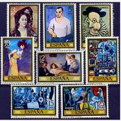 1978 Sellos de España (2481/88). Pablo Ruiz Picasso.
