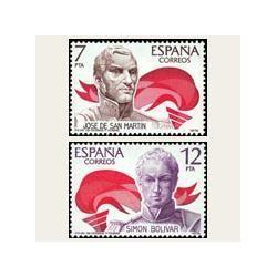 1978 España. América - España. Edif.2489/90 **